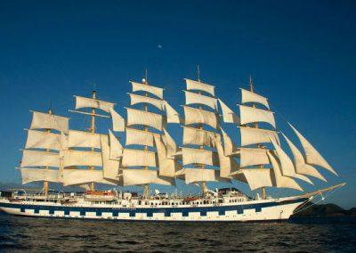 Balearic Islands & Corsica – Royal Clipper – 28 April 2018 – 7 Nights