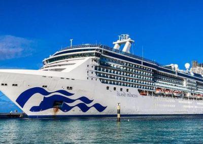 4 Apr 2022 – Rome to Fort Lauderdale – 23 days – Island Princess – World Cruise Segment, Western Mediterranean Transatlantic